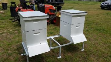 New hives assembled