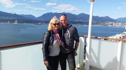 Heading out of Vancouver. Cruising the Alaskan waterways